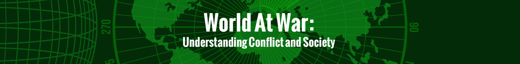 ABC-CLIO Solutions - World at War: Understanding Conflict and Society